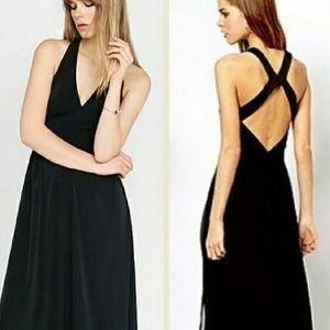 Express formal black maxi dress